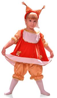 Детские карнавальные костюмы лесных животных зверей для девочек ... b677e53826c77